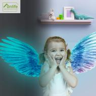 天使夜光翅膀