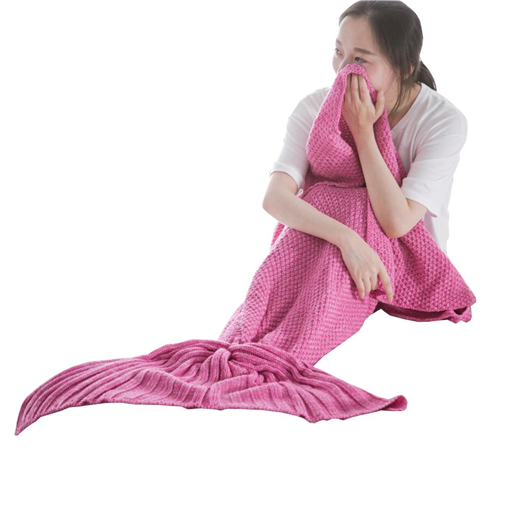 简约美人鱼毯子