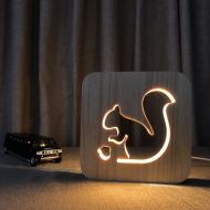 富樂木頭燈FS-T1801W